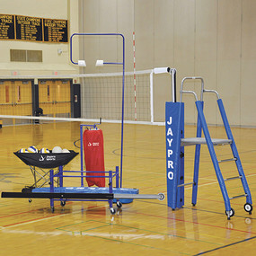 "3"" Featherlite Deluxe Volleyball System Package"