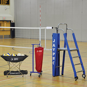 "3"" Featherlite Volleyball System Package"