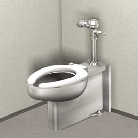 Floor Mount, Floor Outlet Toilet