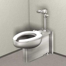 Floor Mount, Floor Outlet Toilet