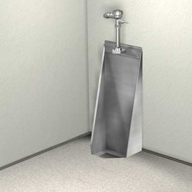 Washout Stall Urinal, Front Mount
