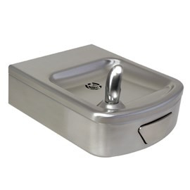 Rounded Box Wall Mount Drinking Fountain