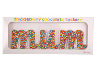 Freckleberry Chocolate - Mum word