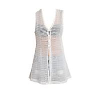 Vintage White Mesh 90's Vest