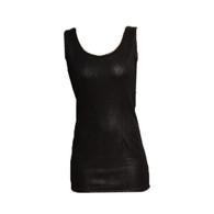 Vintage Black Snake Pattern Top/Dress