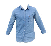 Vintage Denim Shirt -Sillarian