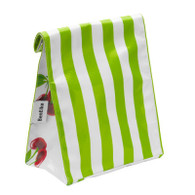 Ben Elke Lunch Bag - Green Stripe