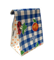 Ben Elke Lunch Bag - Blue Frutal