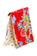 Ben Elke Lunch Bag - Red Butterfly