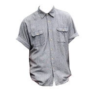 Vintage Grey Cotton Shirt
