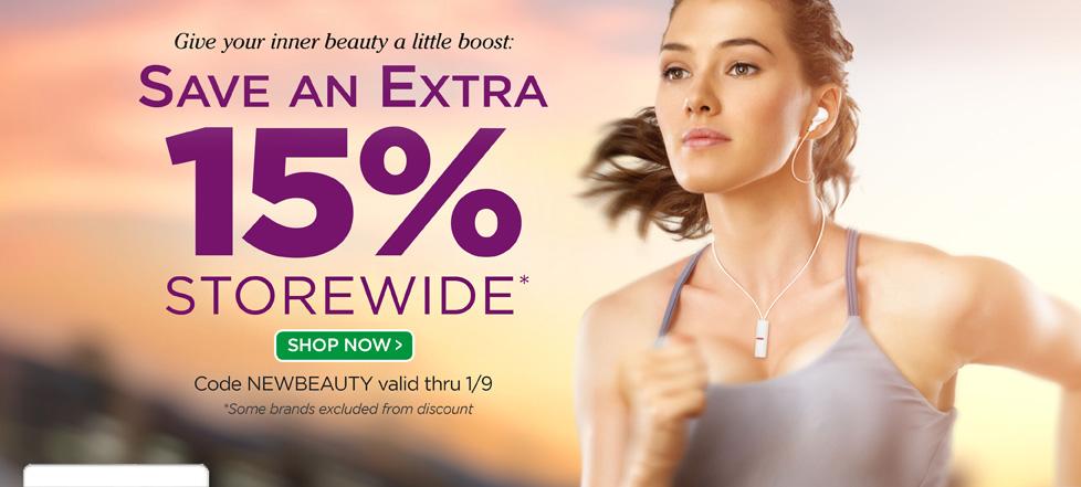 עד 15% הנחה על מגוון מוצרי טיפוח וקוסמטיקה מבית beautystoredepot