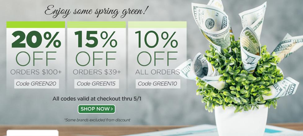 Enjoy some spring green!