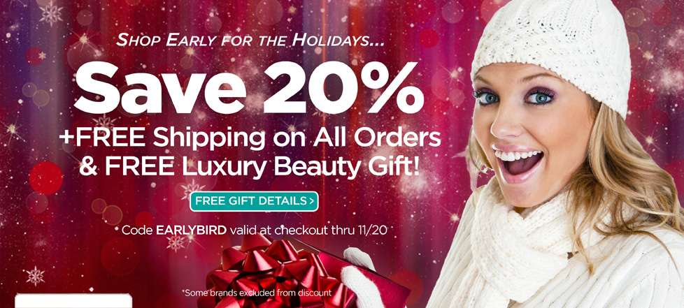 Shop Early and Save!