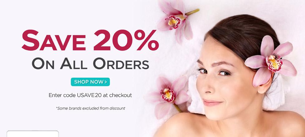 Save 20% Starting Now!