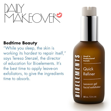 Bioelements Quick Refiner Featured in Daily Makeover