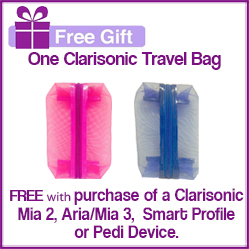 FREE Clarisonic Travel Bag