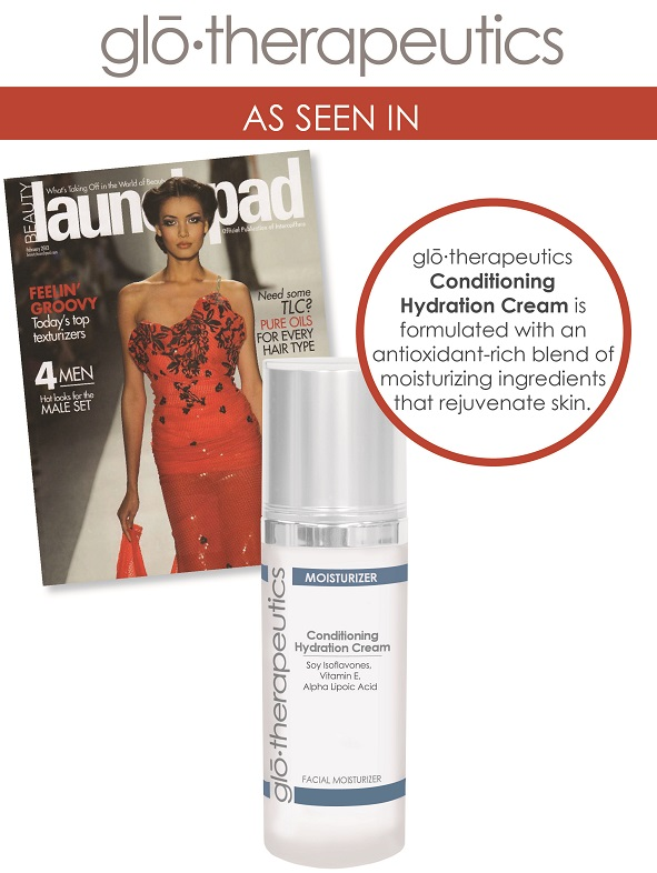 glotherapeutics Conditioning Hydration Cream Featured in Launchpad Magazine