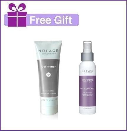 NuFace Free Gift- Gel Primer And Optimizing Mist