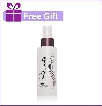 Free Osmosis Clear with $60 Osmosis Colour Purchase