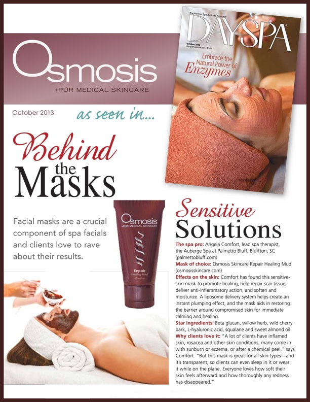 Osmosis Repair Mask in DaySpa Magazine