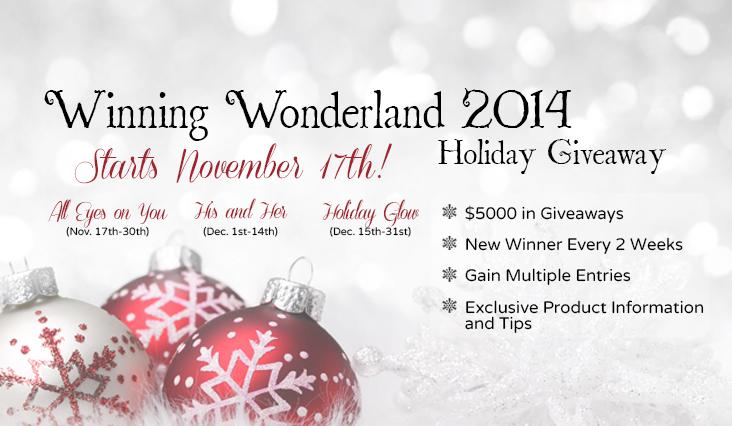 Winning Wonderland Holiday Giveaway