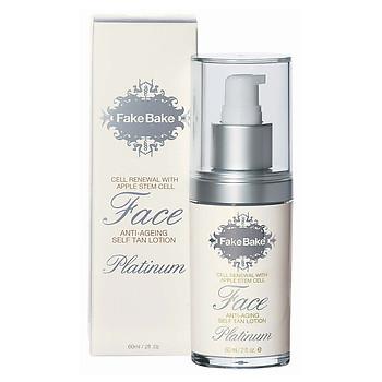 Fake Bake Platinum Face Anti Aging Self Tan Lotion - beautystoredepot.com