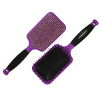 Keratin Complex Bling Brush - Purple