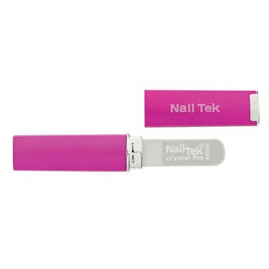 Nail Tek Mini Crystal File - Fuchsia - beautystoredepot.com