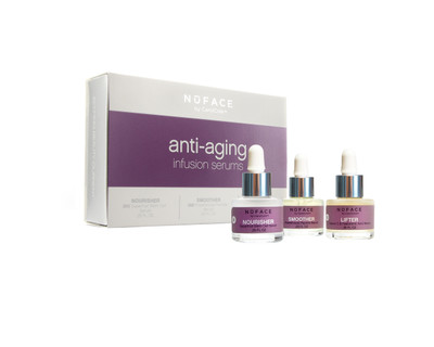 NuFACE Anti-Aging Infusion Serums 3 pack - beautystoredepot.com