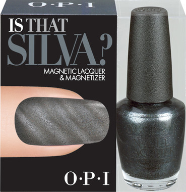 OPI Skyfall Collection - Is That Silva Magnetic Lacquer and Magnetizer - beautystoredepot.com