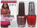 OPI Serena France Glam Slam! Rally Pretty Pink & Red Shatter Duo