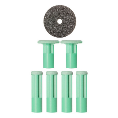 PMD Replacement Discs Green Moderate - 6 ct - beautystoredepot.com