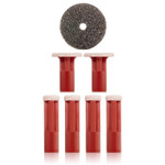PMD Replacement Discs Red Coarse - 6 ct
