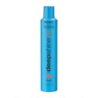 Rusk Deepshine Oil Finishing Hairspray - Extra Strong Hold 10.6 oz - beautystoredepot.com