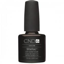 Shellac UV Color Coat Black Pool - beautystoredepot.com