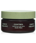 Simply Organic Control Definition and Shine Hair Wax 1.5 oz