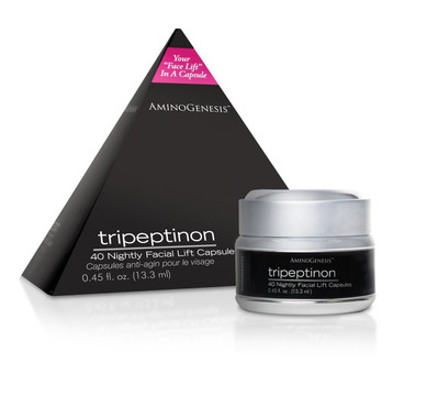 AminoGenesis Tripeptinon Facial Lift 40 Capsules - beautystoredepot.com