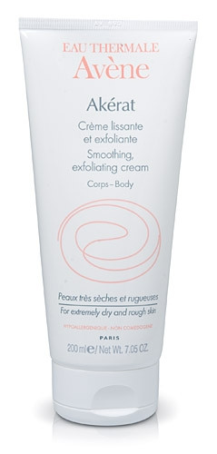 Avene Akerat Smoothing, Exfoliating Cream for Body 7.05 oz