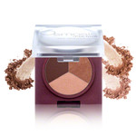 Osmosis Colour Eye Shadow Trio - Bronzed Cocoa