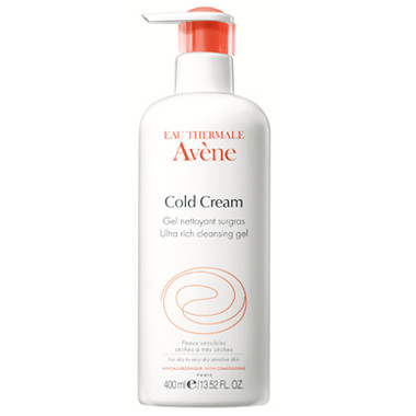 Avene Cold Cream Ultra Rich Cleansing Gel 13.52 oz - beautystoredepot.com