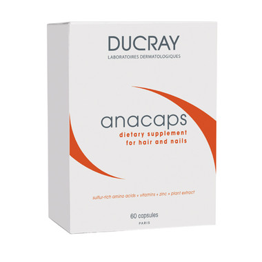 Glytone by Ducray Anacaps Dietary Supplement - 60 capsules - beautystoredepot.com