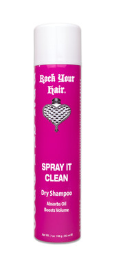 Rock Your Hair Sprays it Clean Dry Shampoo 7 oz - beautystoredepot.com