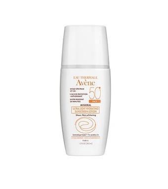 Avene MINERAL Ultra-Light Hydrating Sunscreen Face Lotion SPF 50+ - beautystoredepot.com