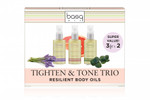Basq Tighten and Tone Trio - Resilient Body Oils