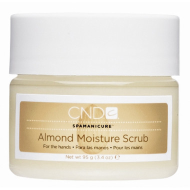 CND Almond Moisture Scrub - beautystoredepot.com