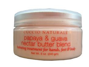 Cuccio Naturale Papaya and Guava Nectar Butter Blend 8 oz - beautystoredepot.com