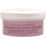 Cuccio Naturale Lemongrass & Lavender Sea Salts 19.5 oz