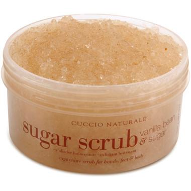 Cuccio Naturale Vanilla Bean and Sugar Scrub 19.5 oz - beautystoredepot.com