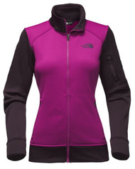 North Face Women's Amazie Mays Full Zip #NF0A3FQU1YK Wild Aster Purple-Galaxy Purple