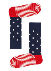Happy Socks Star Stripe Sock SR01-002-424